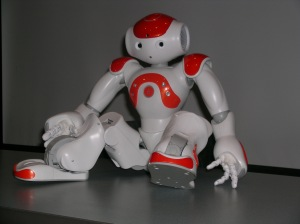 Mackenzie Hurlbert | General Assignment ReporterThe NAO robot, created by the company Aldebaran Robotics, costs $16,000.