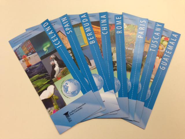 Ivylee Rosario | News Editor Brochure's from the International Programs Office.