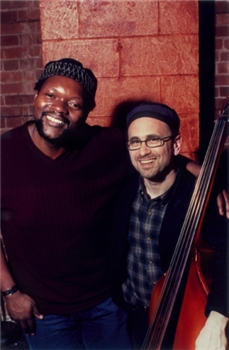 David Chevan, right, and Warren Byrd, left, the co-founders of the Afro-Semitic Experience.