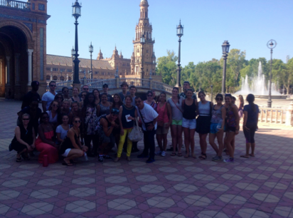 Study abroad students in Spain this summer