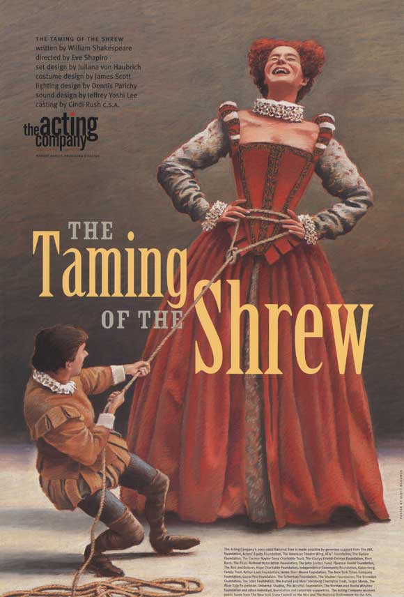 katherine and petruchio in shakespeares taming of the shrew