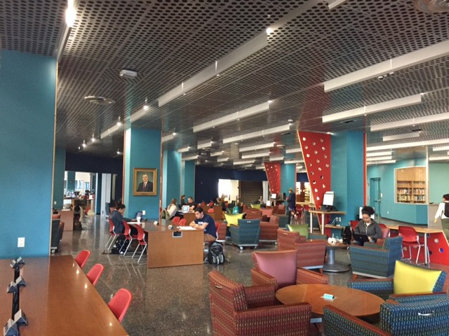 Buley Library- Learning Commons- Photo credit Laura Gustafson