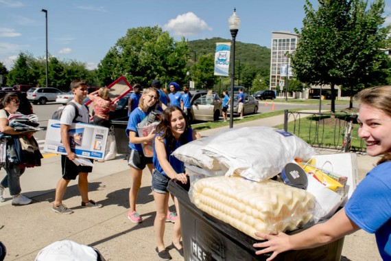 Move-In day was on Aug. 27 at SCSU.