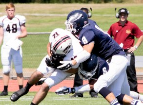 SCSU football team played Gannon University on Saturday, Sept. 5.
