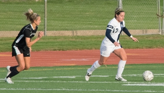 SCSU women's soccer team played College of Saint Rose this past Saturday.