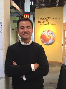 Thuan Vu Centre College Aegon Gallery Oct. 2015