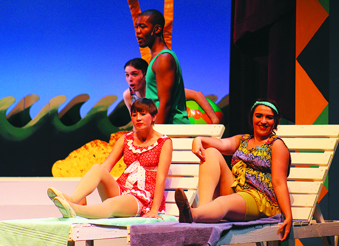 The Crescent Players showcase their musical skills in this new production.