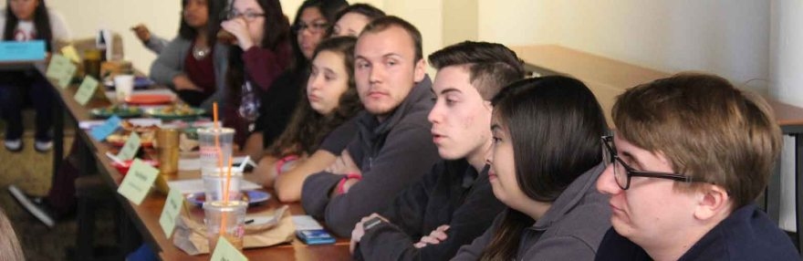 Members of Student Government at the SGA meeting on Friday, Oct. 14.