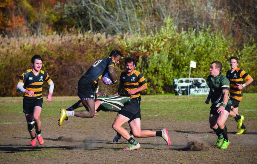 Men's rugby made it to the national championships.